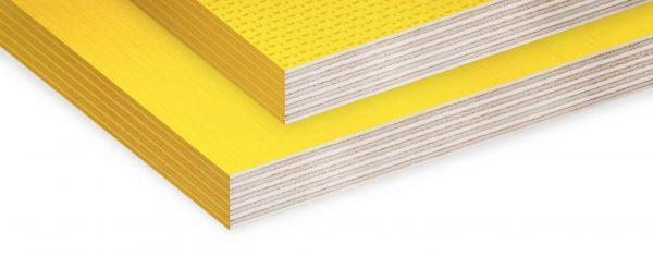 Берёзовая фанера жёлтого цвета - Color Yellow