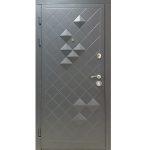 Дверь металлическая модель «Р-3D»